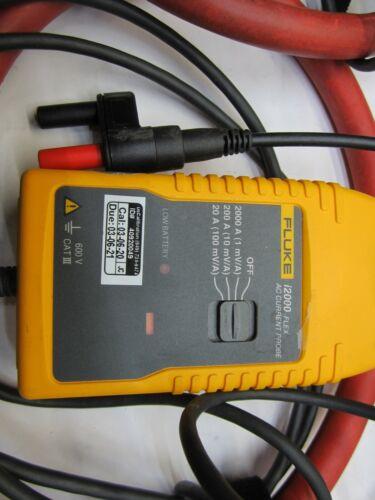 FLUKE i2000 FLEX AC Flexible Current Probe T9-D1