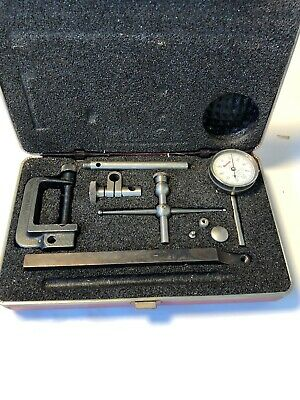 Nice Starrett No. 196 Back Plunger Dial Indicator Set