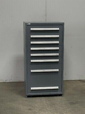 Used Stanley Vidmar 8 Drawer Cabinet Industrial Tool Parts Storage 2411