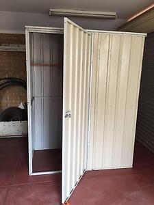 Garden Shed Cream Colorbond 1520mm long x 780 wide x 1995 high Redcliffe Belmont Area Preview