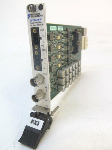 National Instruments NI PXIe-4610 Power Amplifier PXI Amplifier Module