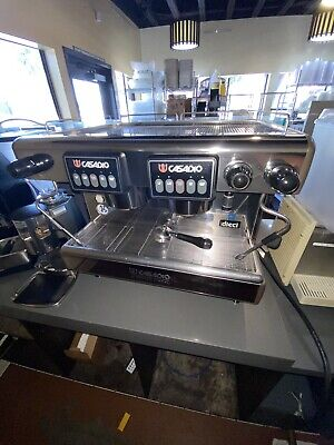 Casadio Dieci A2 Automatic Two Group Commercial Espresso Machine Made In Italy