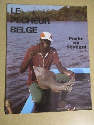 LE PECHEUR BELGE: N°10: DECEMBRE 1985: PECHE ET PISCICULTURE - PECHE AU SENEGAL