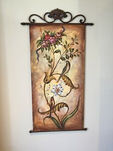 Hand paint , Rod iron art pieces