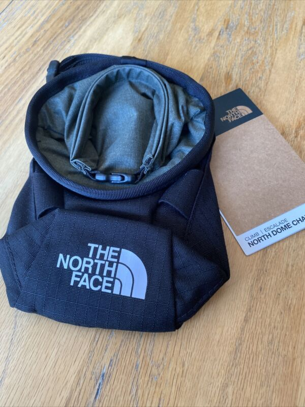 The North Face Chalk Bag Climbing Hiking North Dome $29 NWT BLACK