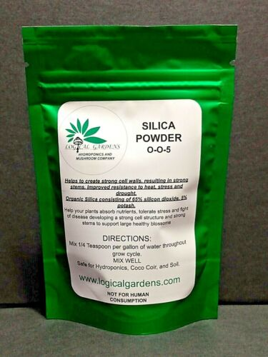Silica Powder 0-0-5 Plant Supplement, Hydroponics Coco Coir Soil