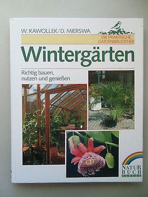 2 Bücher Hausgärten planen Entwürfe Beispiele Wintergärten Richtig bauen nutzen