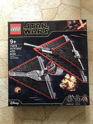Lego 75272 Sith TIE Fighter Rise Of Skywalker Star Wars No Knight Of Ren!!