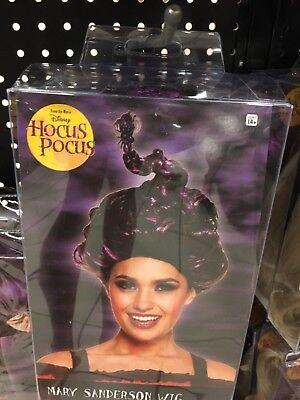 MARY SANDERSON WIG HOCUS POCUS MOVIE ADULT WOMENS HALLOWEEN NEW - Hocus Pocus Mary Costume