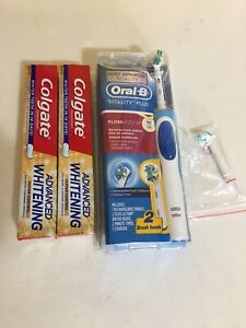 New!Oral B electric toothbrush and toothpastes