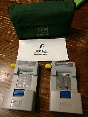 Mod Tap Fiber Test Pack Source Meter Ftp St Jumper Light 850nm