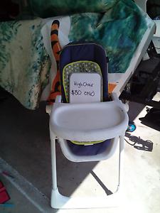 High chair Yorkeys Knob Cairns City Preview