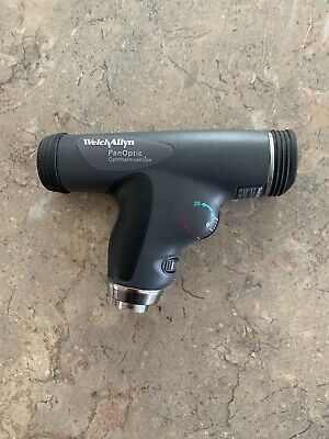 Welch Allyn Panoptic 11820 Ophthalmoscope Cobalt Blue Filter Tested Working Bulb