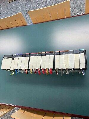 Complete 17 Slot Allen Bradley Plc Rack Control Logix