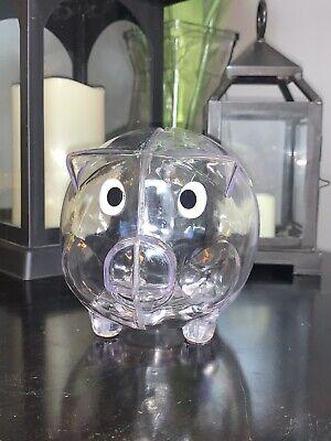 Windy City Novelty (Windy City Novelties Educational Kids Clear Piggy Bank - Personalize Save Money)