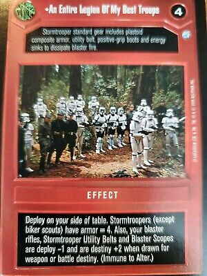 Star Wars CCG Endor Hot Pursuit FOIL NrMInt-MINT SWCCG