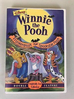 Winnie The Pooh Halloween Movies (Winnie The Pooh Frankenpooh & Spookable Pooh Disney Halloween Double Feature)
