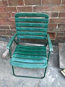 Plastic fold up chair Georgetown Newcastle Area Preview