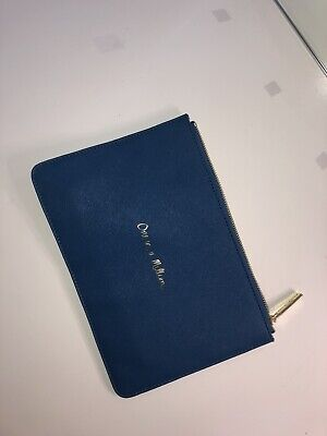 Katie Loxton Navy Pouch/ Purse Bag 'One In A Million'