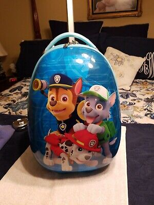 Heys 18in Hardcase Luggage Nickelodeon Paw Patrol Used Once