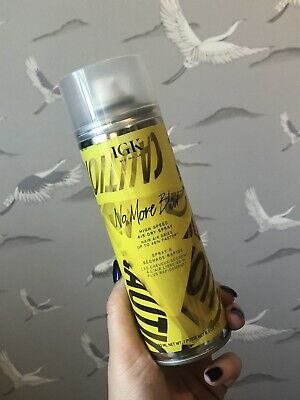 IGK No More Blow Hair Dry Spray 293ml Vegan & Cruelty Free.