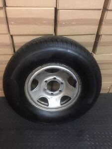 Holden rodeo 6 stud wheels and brand new tyres Carwoola Queanbeyan Area Preview