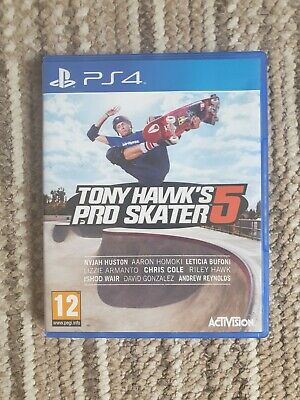 PS4 Tony Hawk's Pro Skater 5 Game - Used - Good Condition