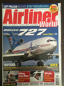 Airliner World - February 2013 issue - Boeing 727 - <span itemprop=availableAtOrFrom>Olsztyn, Polska</span> - Airliner World - February 2013 issue - Boeing 727 - Olsztyn, Polska