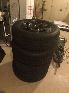 Cheap like new winter tires with rims!!