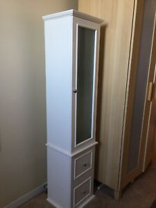 White cabinet/shelving unit