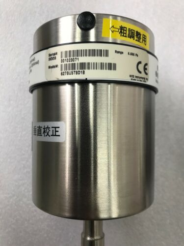 MKS Instruments Pressure Transducer 627BU5TBD1B Range: 0.05TORR