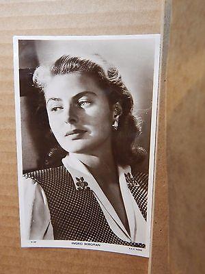 Picturegoer  Film star postcard W 269 Ingrid Bergman   unposted  .
