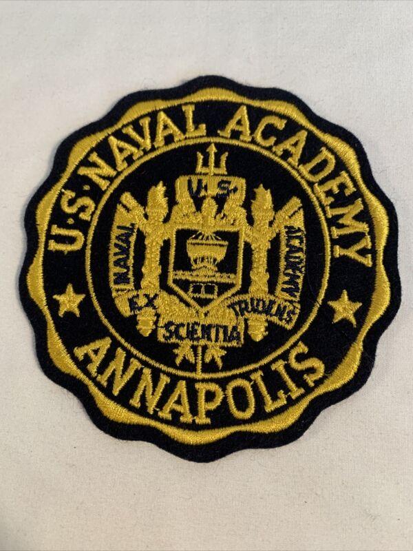 US Navy U. S. Naval Academy Annapolis Patch