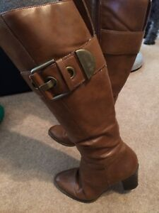Brown Fashion Boots Size 9