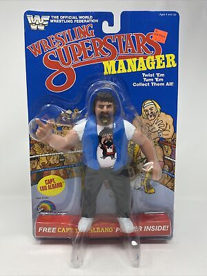 WWF LJN Series 3 Wrestling Superstars Manager Figure Capt. Lou Albano RARE White