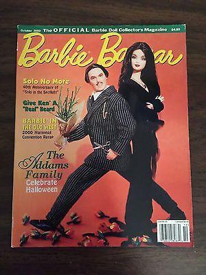 Barbie Bazaar Magazine October 2000 TheBarbie Doll Collector's Magazine/Toy Fair