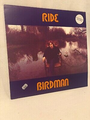 "Clear Vinyl Single (Ride BIRDMAN 12"" Single Lp Album Clear Vinyl SUPER Rare UK)"