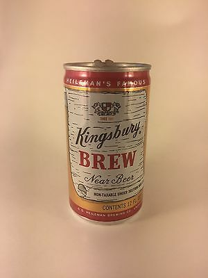 Kingsbury Brew Near Beer 12 Oz. Beer Can