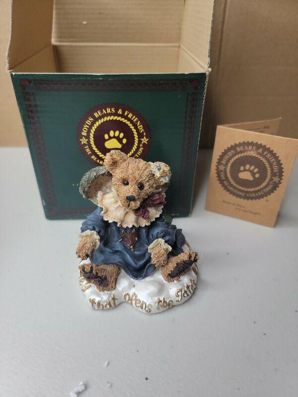 Boyds Bears GWAIN LOVE IS THE MASTER KEY Resin Love Bearstone 228317 RETIRED