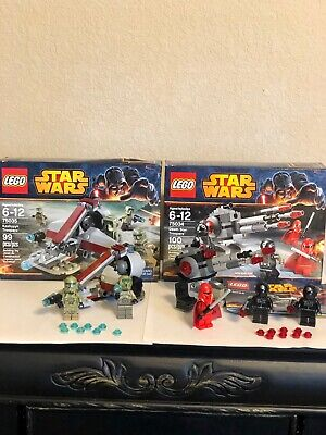 LEGO Lot 75035 Star Wars Kashyyyk Troopers & 75034 Death Star Troopers. See Dis