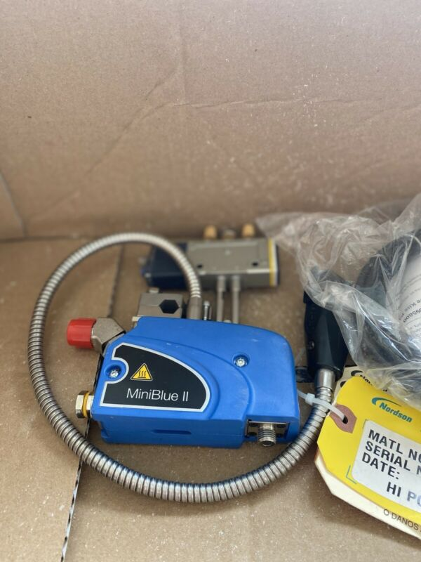 Nordson Miniblue II 8517895 Complete Gun Assembly W/ Solenoid Cable 1100687