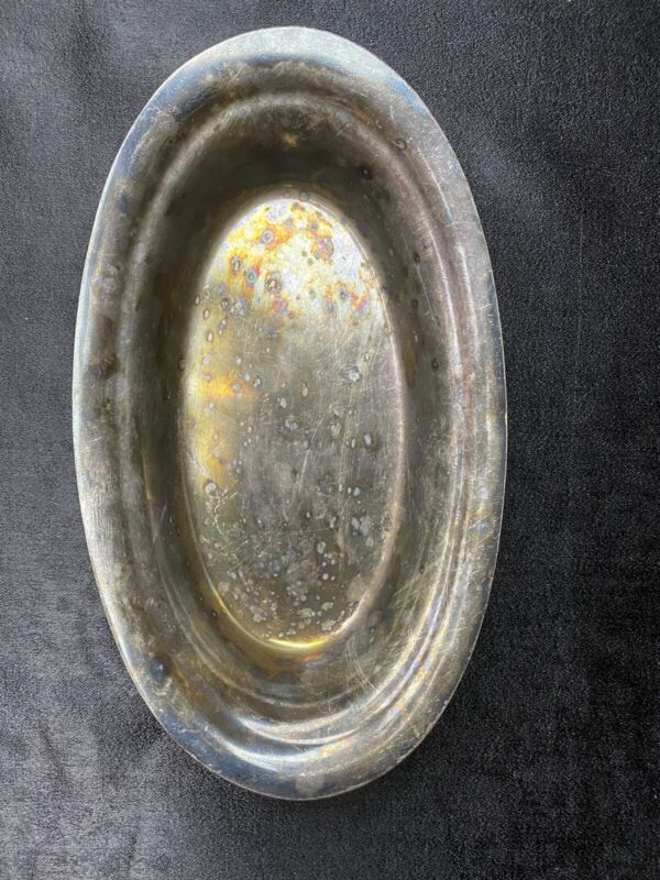 Reed & Barton 2800 SilverPlate Oval Bread Bowl