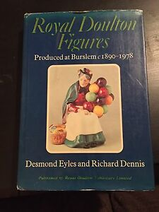 Royal Doulton Figures collectors book Wynnum Brisbane South East Preview
