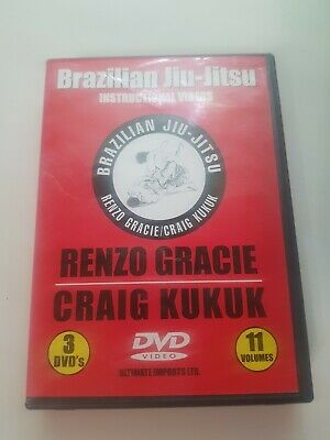 Renzo Gracie Craig Kukuk Jiu-Jitsu Instructional DVD Series