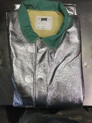 Steel Grip Aluminized Jacket Size 3xlarge Ath1136-35 3x-large