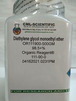 Diethylene Glycol Monoethyl Ether 98.5 Organic Reagent 500g