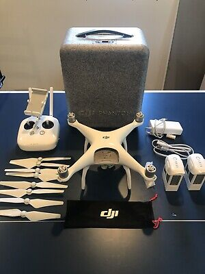 DJI Phantom 4 Standard Quadcopter Drone With Carrying Case - EXTRA BATTERY!!!!