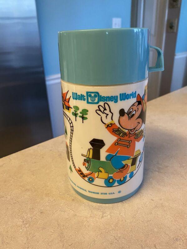 Vintage Walt Disney World Mickey Mouse Thermos