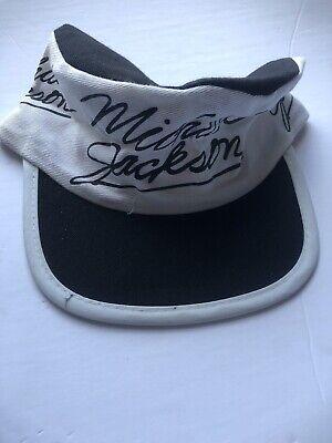 MICHAEL JACKSON Vintage 80s Adult Thriller Concert Tour Painters Cap Hat