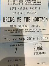 Bring me the horizon tickets Narre Warren South Casey Area Preview
